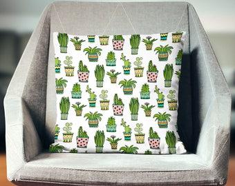 Cactus Pillow | Cactus Decor | Cactus Throw Pillow | Cactus Pillow Case | Cactus Cushion | Cactus Pillowcase | Cactus Pillow Cover