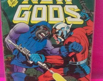 The New Gods #6 Jack Kirby's All New Conclusion To The 1972 Saga  Darkseid And Sons, Jack Kirby Art Good-VG Vintage  1984 DC Comic Book