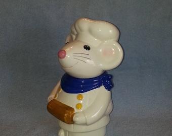 Cookie Jar - Mouse Theme - Chef Theme - Treat Jar