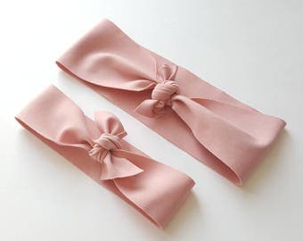 Mommy and me headbands, mommy and baby headbands, mother daughter headbands, mother and baby headbands, matching headbands, pink headband