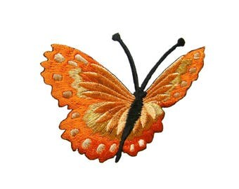 Butterfly Embroidered Applique Iron on Patch