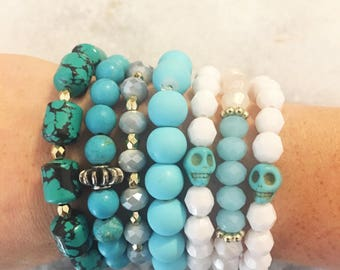 CLEARANCE blue bracelets