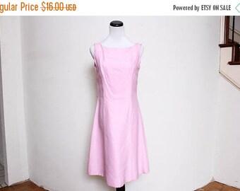 30% OFF VTG 60s Pink Mod Bow Lolita Dress M