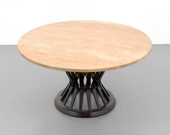 """Edward Wormley """"Sheaf of Wheat"""" Coffee Table"""