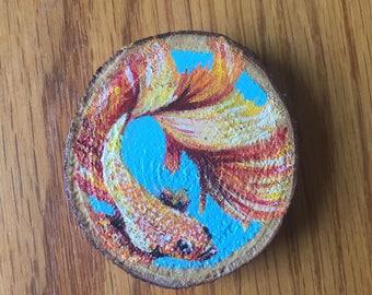 Little Fish Mini Painting