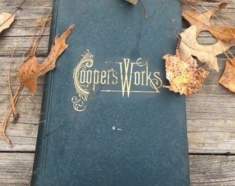 1892 Vol. 9 Cooper's Works by Fenimore Cooper