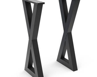 Metal X Legs for Console Tables