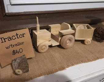 Tractor w/trailer
