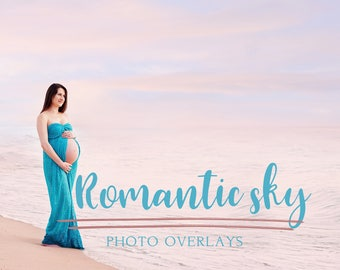 50 Romantic Sky photo overlays