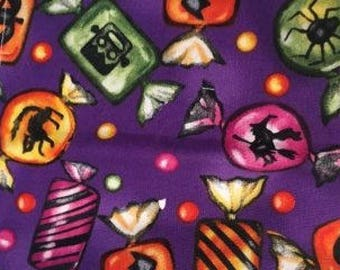 Purple Trick or Treat Candy