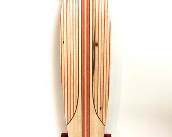 Handcrafted infused Fishtail Longboard Skateboard