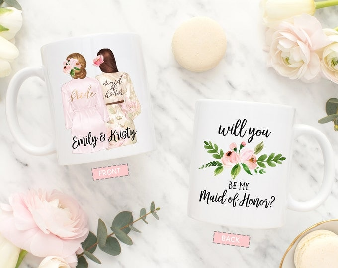 Maid of Honor Proposal Mug, Will You Be My Maid of Honor Mug, Proposal Mug Maid of Honor, Maid of Honor Gift, Matron of Honor Proposal Mug