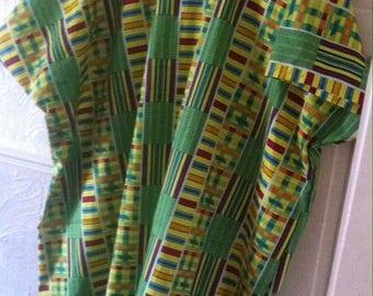 African print plus size kaftan size 22-26