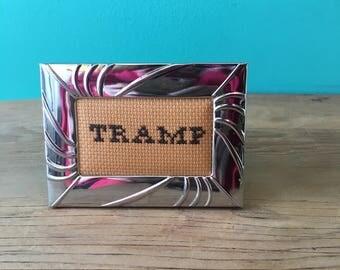 Crassstitches -TRAMP - Handmade in Toronto
