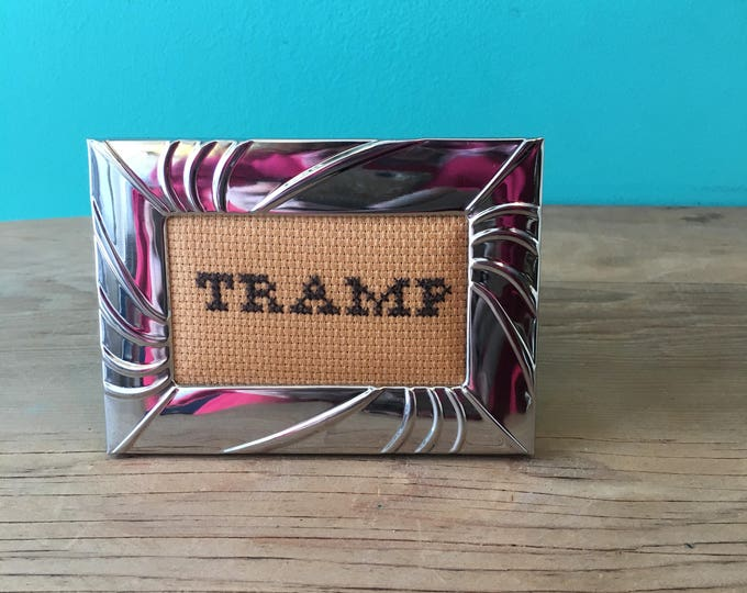 Crassstitches -TRAMP - Handmade in Toronto