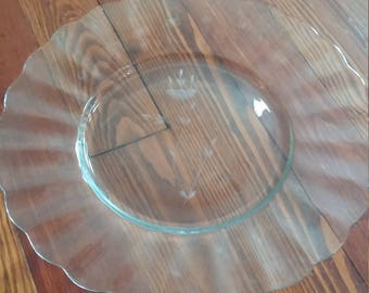 Princess House Round Serving Platter