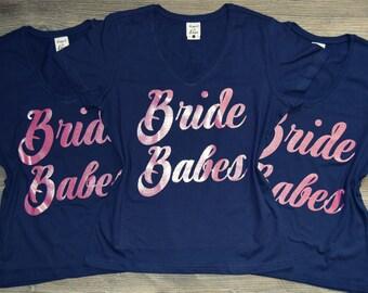 Bride's Babes, Brides Babes, Bride Babes, Brides Babes Shirts, Bride Babes Shirts, Bride's Babe, Bride's Babes and Bride, Bride Brides Babes