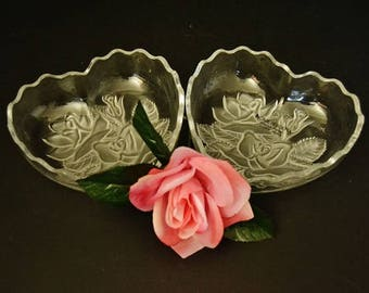 Hearts and Roses Candy Dish