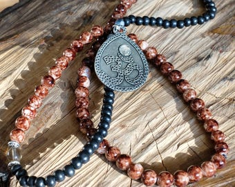 Om Mala Necklace