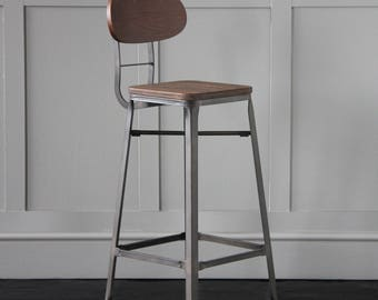 Bistro Industrial Stool