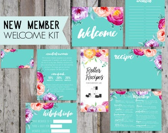 NEW! Essential Oil New Member Kits, Welcome Kits Printable, Essential Oils, New Member Oil Resources, Young Living, Oil Accessories