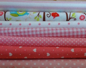 Quilt Kit: Patchwork Pink Owls