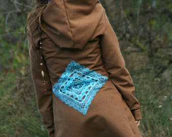 Autumn coat wool cashmere