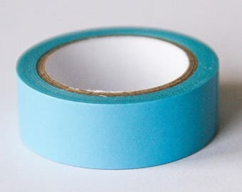 Washi tape - blue Uni