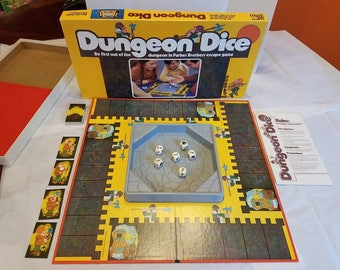 Dungeon Dice Board Game (1977)