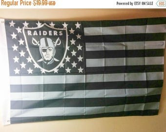 PRE-SEASON SALE 30% Off Oakland Raiders, Raiders Nation Flag or Banner 3' x 5'