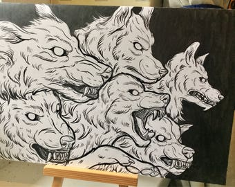 Grr Original A4 Artwork