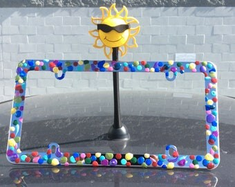 Decorative License Plate Frame