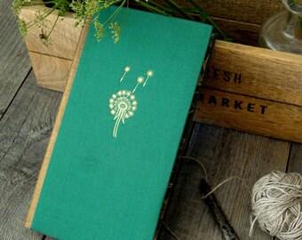 Botanical junk journal, Junk journal,Memory journal,TN insert,Vintage journal