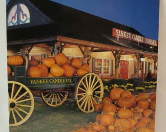 Yankee Candle Company South Deerfield Mass Postcard