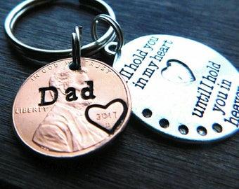 Custom Penny From Heaven Memorial Keychain. Memorial Gift, Heaven Penny, Grief gift, Lucky Penny, Rememberance,  Grandma, Dad, Mom, Sister