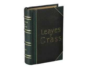 Leaves of Grass ~ WALT WHITMAN ~ Second Edition ~ 1856 Fowler Wells ~ 2nd 1st