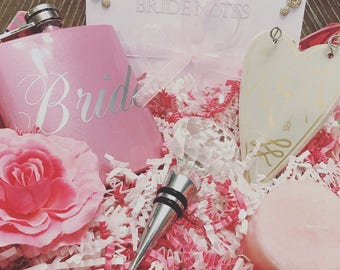Bride to Be Bridal Engagement Gift Basket Present, Bride Gift, Bridal Gift Basket, Future Mrs. Gift