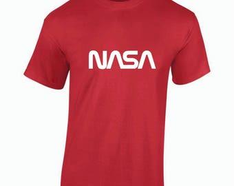 NASA worm logo T-Shirts