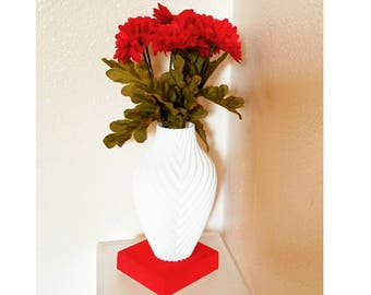 3D Printed Monochromatic Vase| Year Round Décor | Vase