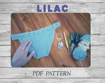 Crochet Bikini/ Crochet Bottom/ Crochet Bikini Pattern/ Crochet Cheeky/ Crochet Panties/ Crochet Lingerie/ Easy Pattern/ Crochet Swimwear