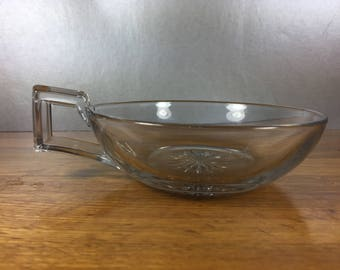 Heisey Serving Dish/ Candy Dish with Handle