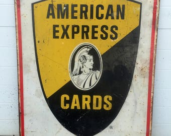 Vintage American Express Sign