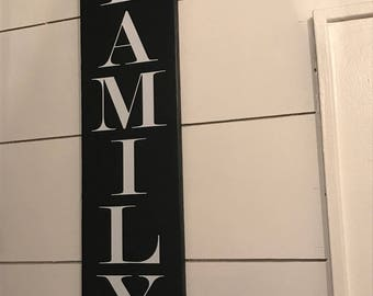 Family Sign,Wood Family Sign,Farmhouse Signs,Rustic Wood Sign,Farmhouse Wall Decor, Rustic Wall Decor,Wood Signs,Handcrafted Wood Signs,