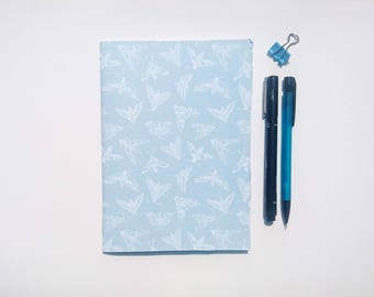 Hawkmoths    A5 Hand-stitched Blank Notebook