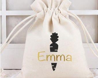 Personalised Easter bag, Easter bunny bags, Easter bunny, Easter sack, Easter gift, Easter basket, bunny bag, bunny gift, Easter fillers