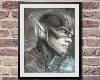 Art print limited edition - Flash