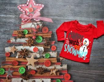 Chillin With My Snowmies, Christmas Kids Shirt, Snowman Shirt, Christmas Shirt, Christmas TShirt, Christmas Eve Shirt, Snow Buddies