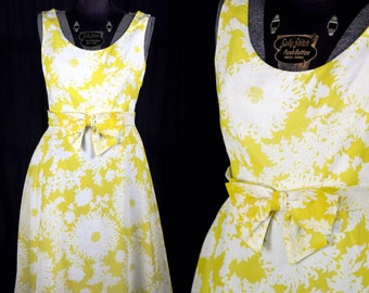Vintage 1960s Miss Spider Mum Brunch Dress by Miss Elliette California / medium