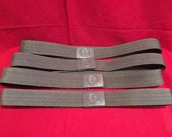 East German 1980's Military Field Belt and Buckle