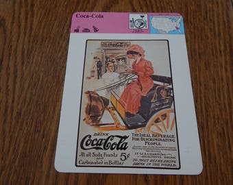 Coca-Cola 1979 Panarizon Publishing Trading Card